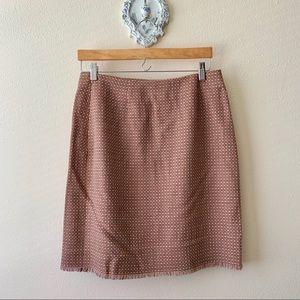 Harolds wool blend skirt.